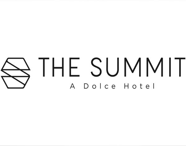 The Summit horizontal logo, black