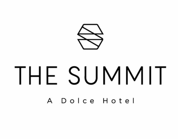 The Summit Logo, vertical, black
