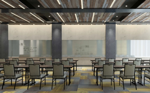 Meeting spaces designed to inspire