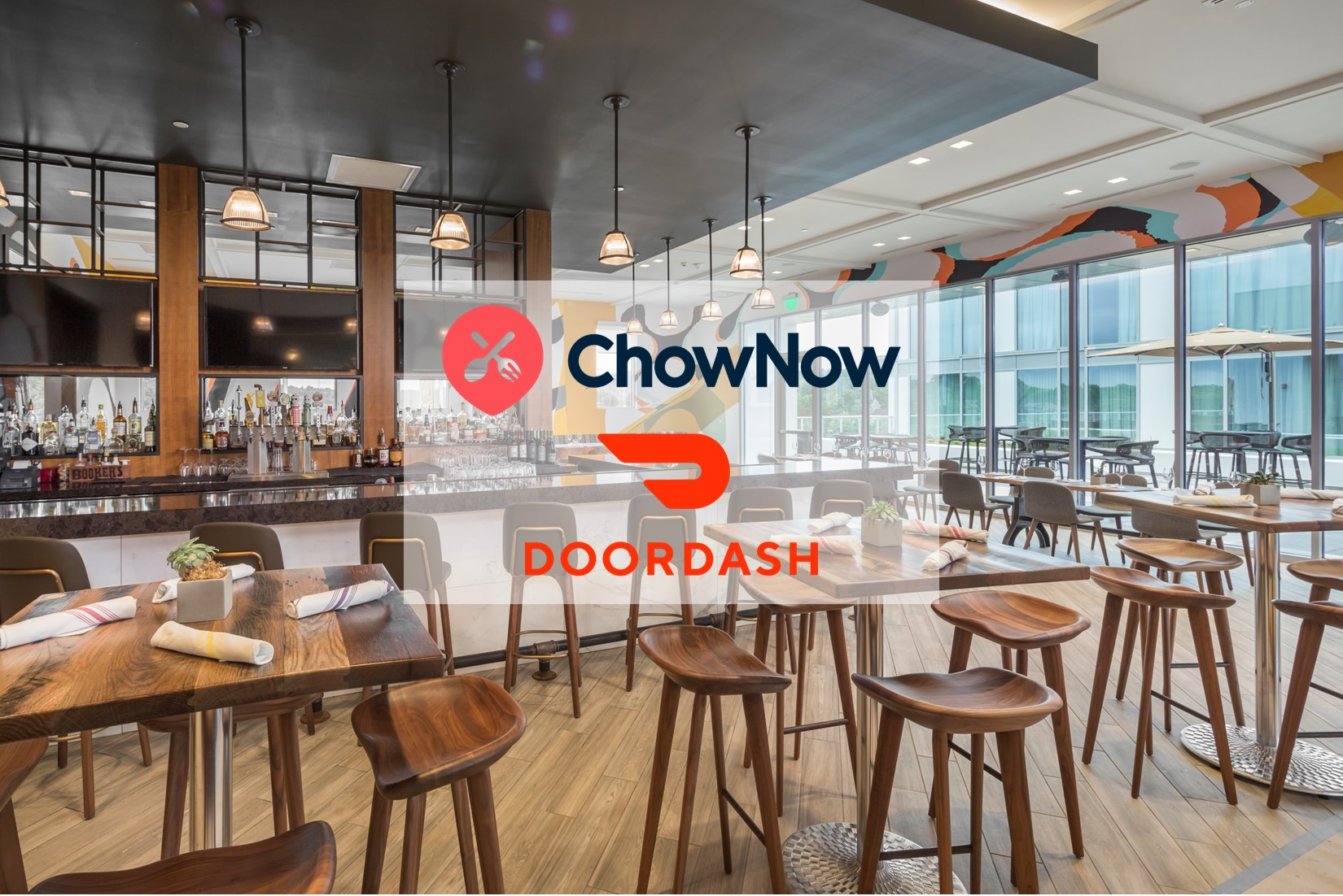 Door Dash Chow Now