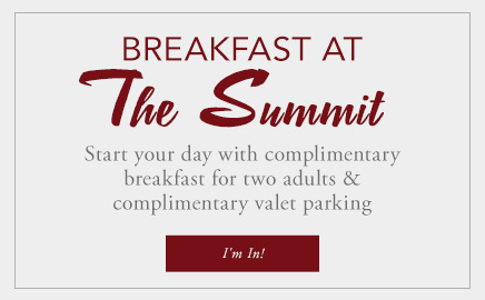 Enjoy Breakfast at The Summit with our package
