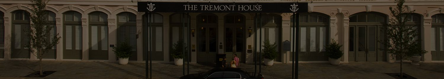 wide header image with front of tremont hotel