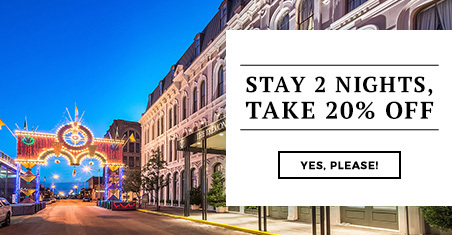 Stay 2 Nights, Take 20% Off Pop-In