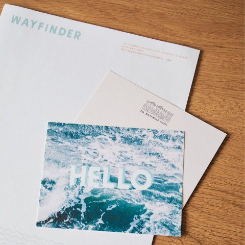 wayfinder greeting card