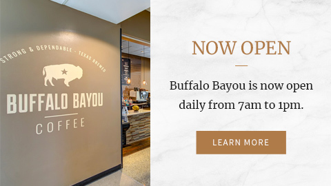 Buffalo Bayou now open