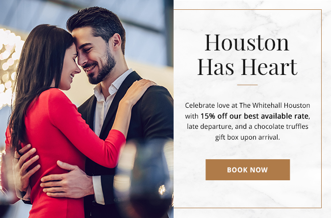 couple embracing each other houston has heart promo popup