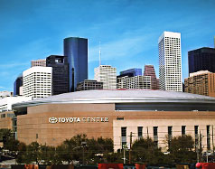 Toyota Center in Houston Texas