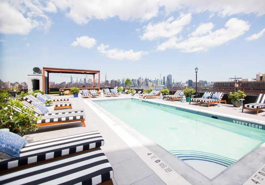 The Williamsburg Hotel | The Best View | Rooftop Bar & Pool
