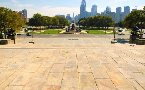 Philadelphia Museum of Art - Rocky Steps