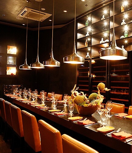Private dining event space