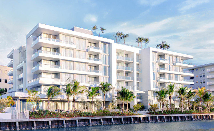 exterior of tryp miami on the intracoastal
