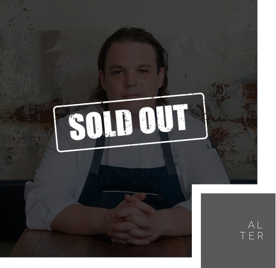 Alter Dinner is Sold Out