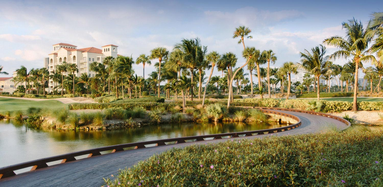 Golf Course View Of Turnberry Isle Resort