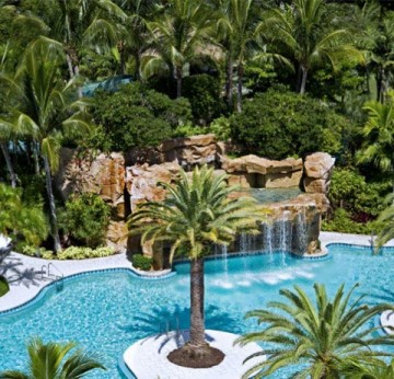 View of Laguna Pool at Turnberry Isle