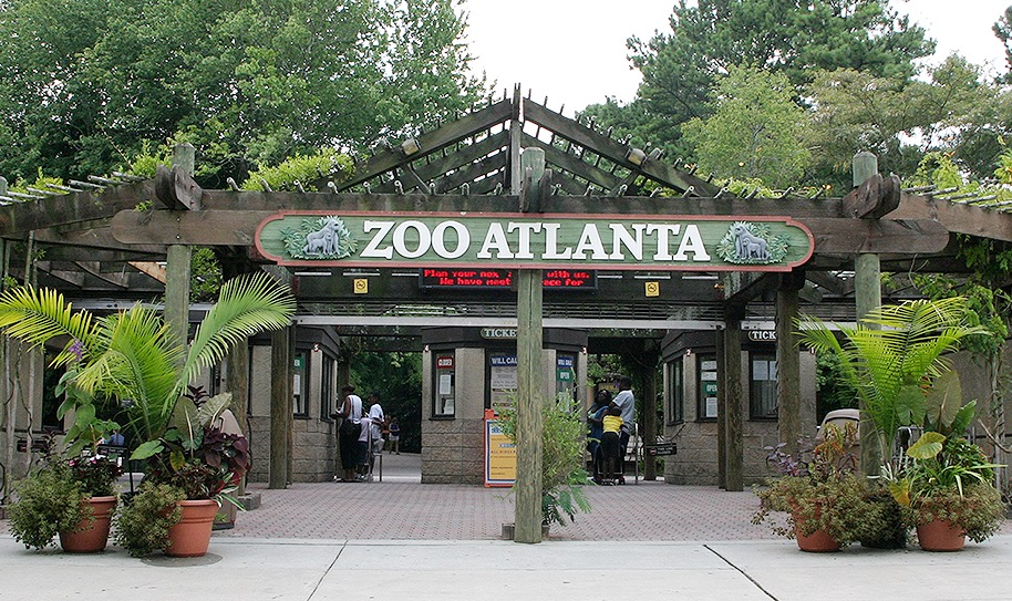 Entrance of Zoo Atlanta