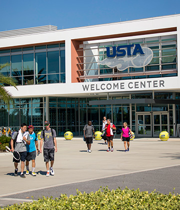 Usta National Campus building entrance