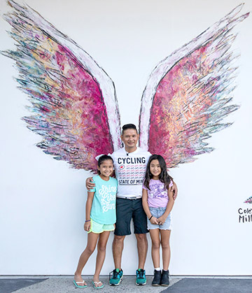 usta recreation art angel project