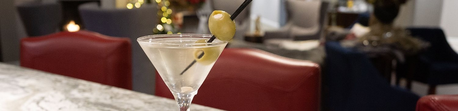 olives in a martini