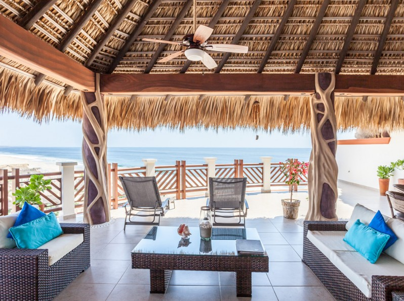 Two bedroom penthouse private palapa