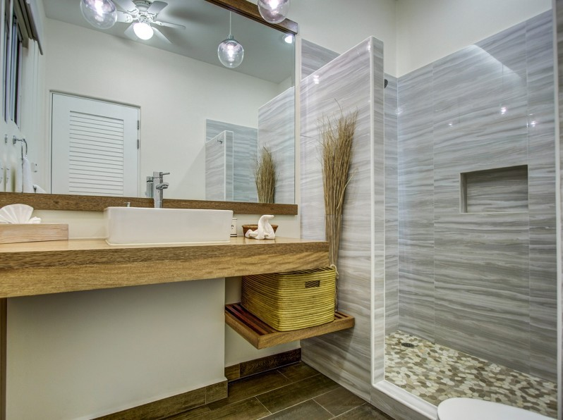 Two bedroom condo suites bathroom