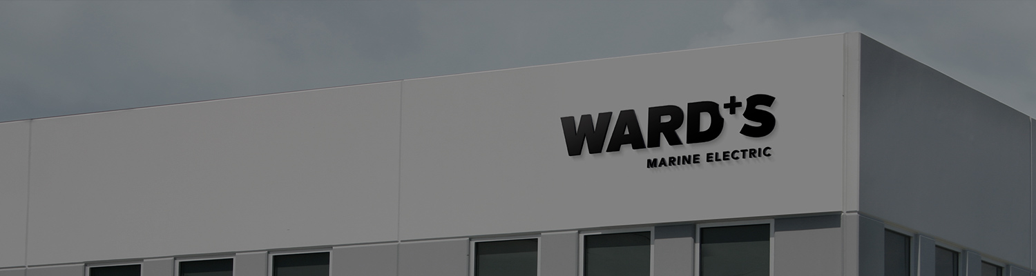 wards marine exterior signage on the building