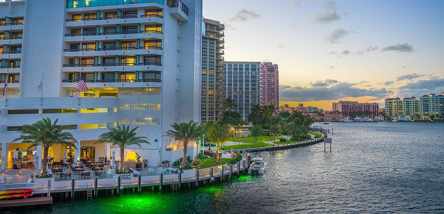 award winning waterfront style in boca raton