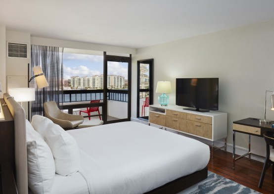 Bedroom suites at Waterstone Resort and Marina