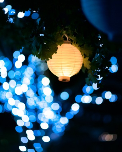 lights and lantern