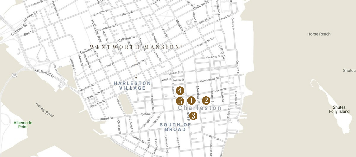 Art Gallery Guide to Charleston
