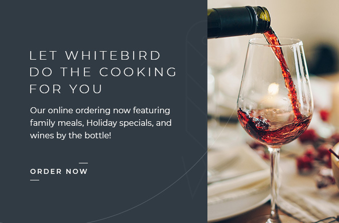 our online ordering now featuring family meals, holiday specials and wines by the bottle