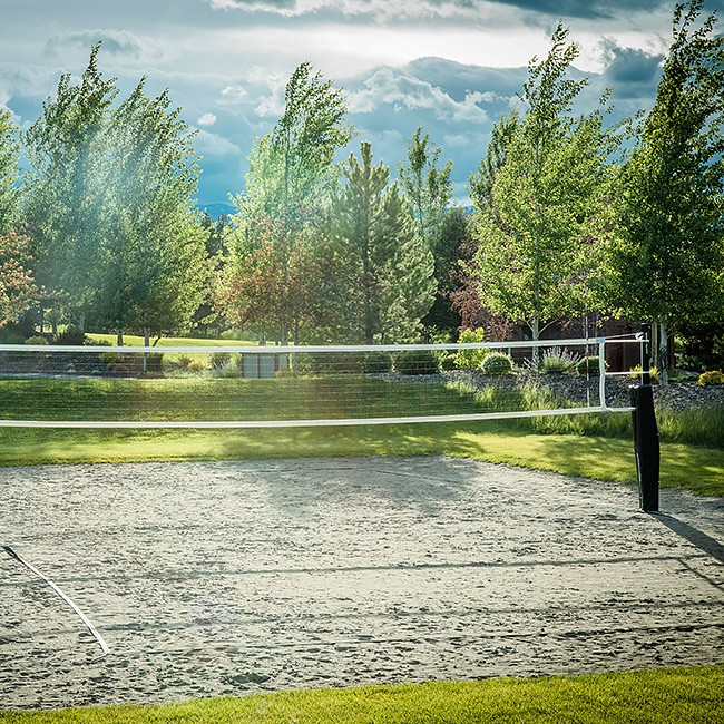 Wilderness Club Sport Park beach volleyball court