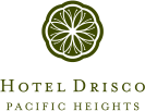 Hotel Drisco<br>Pacific Heights Logo