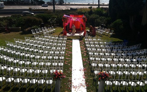 The Pierpont Inn Wedding Chairs and Gazebo