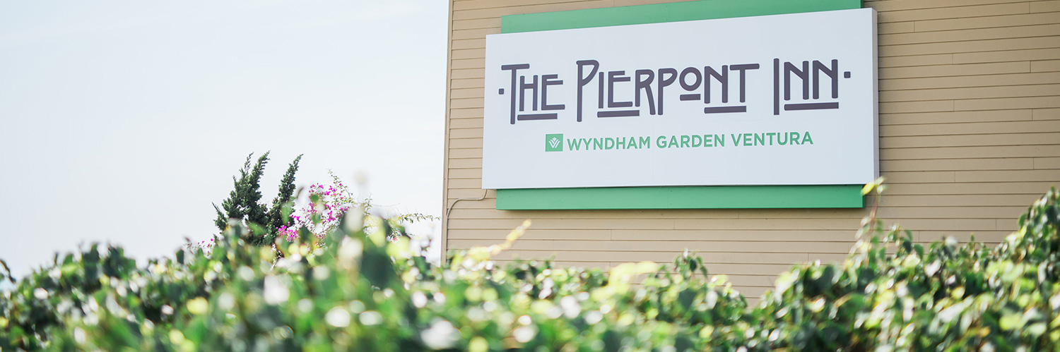 The Pierpont Inn Sign and Exterior