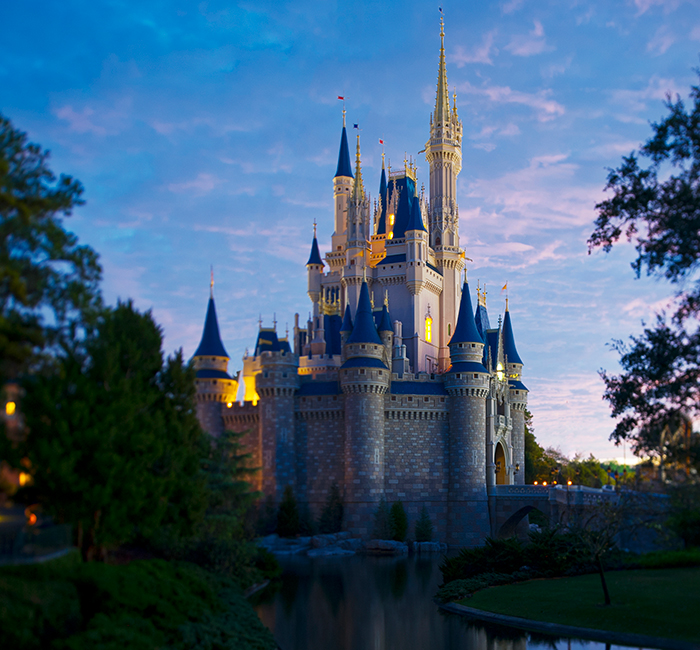 Cinderella's Castle at Walt Disney World® in Florida