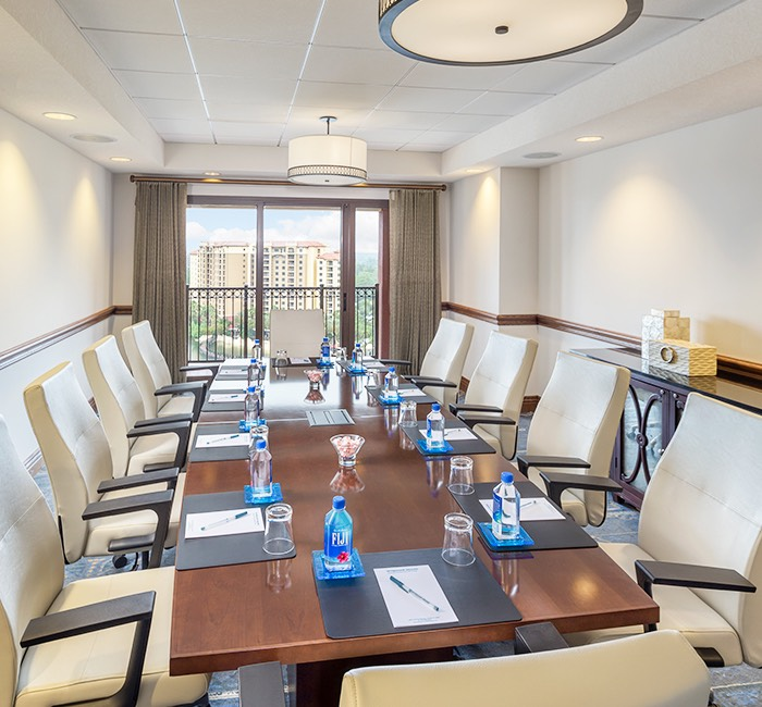 a private meeting room perfect for a smaller meetings and discussions