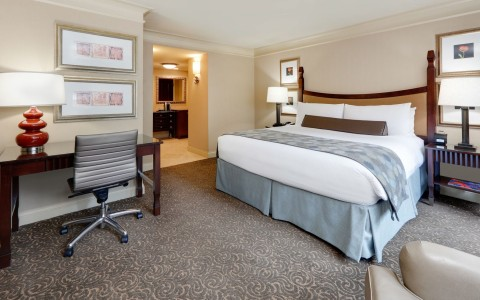 Wyndham Grand Chicago Riverfront king room
