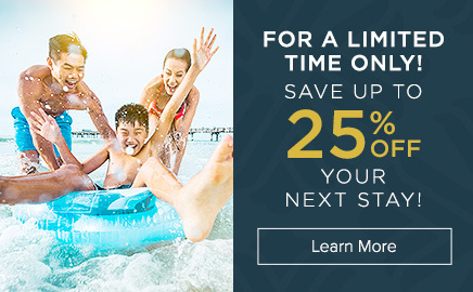 save up to 25 off your next stay