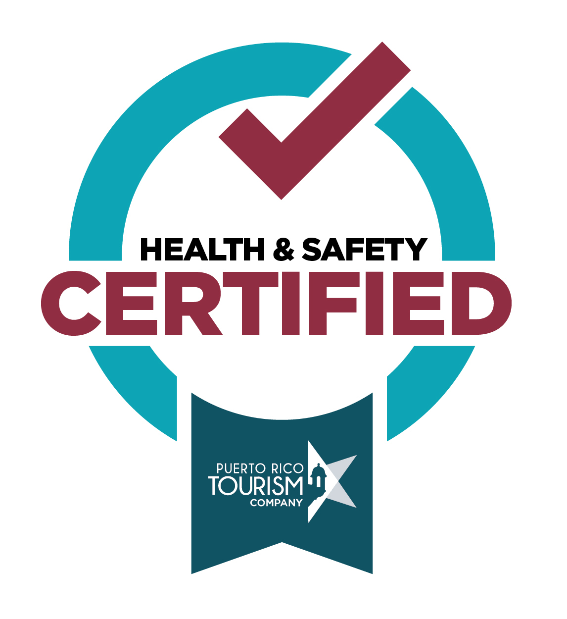 Health and Safety Destination Certification Badge