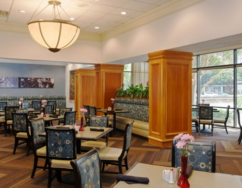 wyndham houston medical center breakfast room