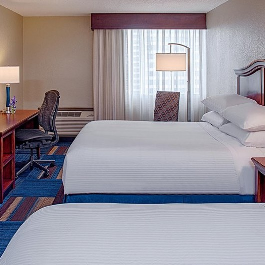 wyndham new orleans french quarter double bed room