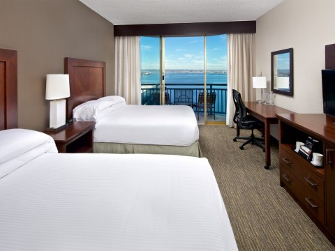 Our Bay View Double guest rooms with views to the sea