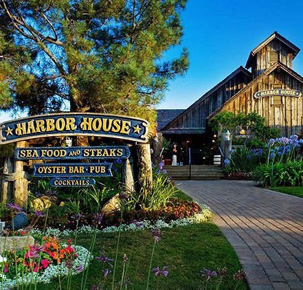 Seaport Village entry way with sign