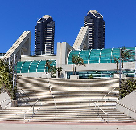 San Diego Convention Center Comic Con
