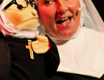 Nunsense Nun with Puppet