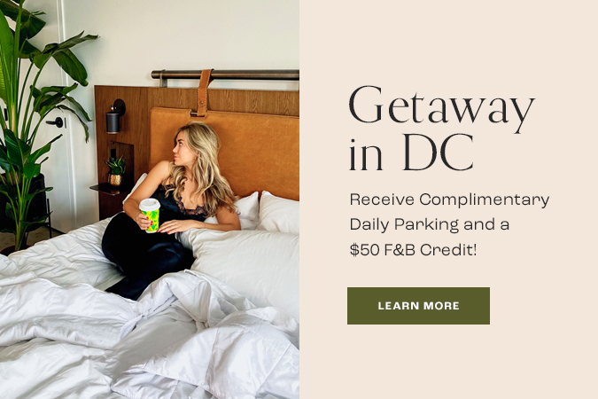 Getaway in DC offer