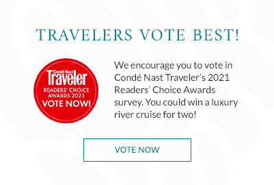 Click to vote in conde nast traveler's Choice Awards