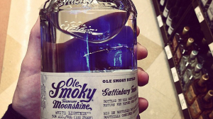 Jar of Ole Smoky Moonshine