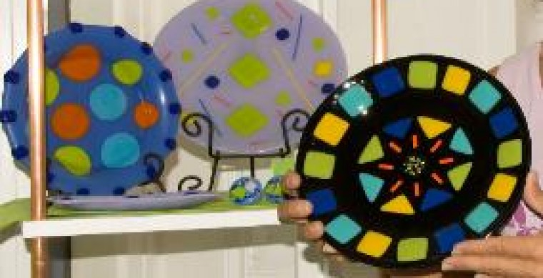 Decorative craft plates