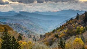 Smoky Mountain landscape